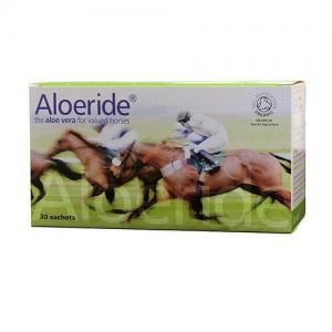 Aloeride aloe vera for horses, digestion, hooves, coat, skin, immunity, mobility