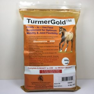 TurmerGold, horses, turmeric, linseed, supplement, MSM, glucosamine, vitamin E