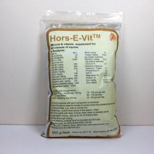 Hors-E-Vit, horses, supplement, vitamin E, vitamins, minerals, balancer