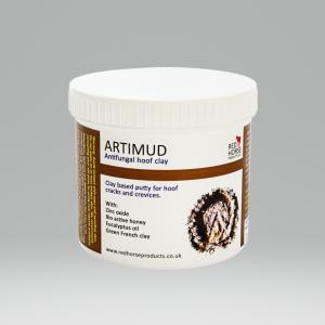 red horse artimud, antibacterial, hoof putty