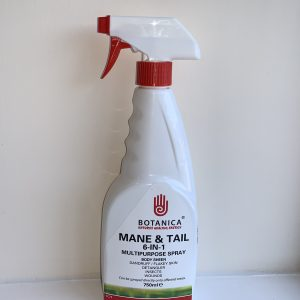 Botanica, spray, grooming, antiseptic, tea tree, lavender, insects, fleas, skin, minor wounds, dry skin, detangling, mane and tail