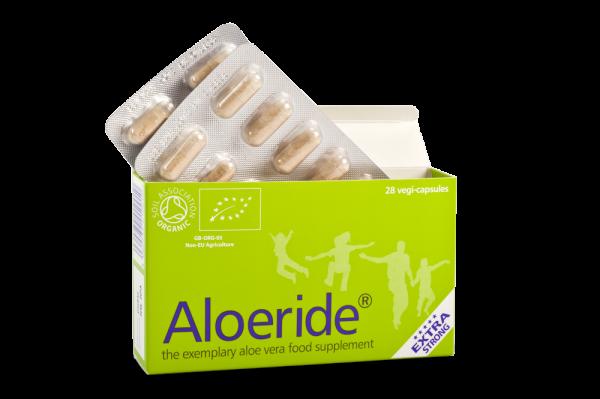 Aloeride, aloe vera, gut health, healing, anti-inflammatory, skin, immune system