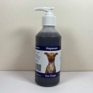 Hepasan, dogs, liver, detox, skin, coat, digestion, tonic, vitality, stress, herbal