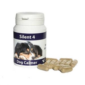 Silent 4 for Dogs, dogs, Animal Herbal Health, ayurvedic herbs, herbal supplement, stress, nervousness, anxiety, behaviour